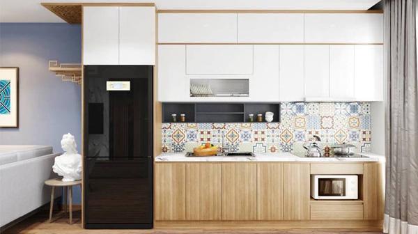 Tủ bếp acrylic có bền không