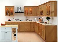 Báo giá tủ bếp gỗ sồi Nga