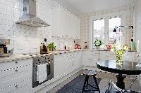 Những mẫu bếp đẹp với màu trắng tinh khôi