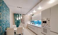 Bắt mắt ý tưởng thiết kế tủ bếp xu hướng 2017