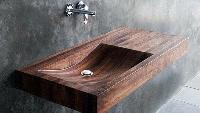 18 mẫu chậu rửa bằng gỗ có thiết kế cực đẹp