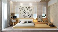 Cách trang trí phòng ngủ kiểu Nhật yên bình, ấm áp